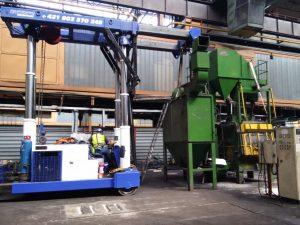 Montáž, sťahovanie a údržba priemyselných technológií
